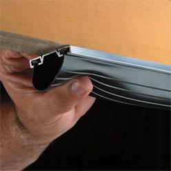 how to install garage door weatherstripping. Black Bedroom Furniture Sets. Home Design Ideas