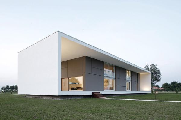 Modern italian minimalist home design for Architecture minimale