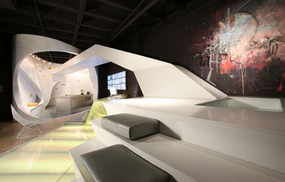 Futuristic Luxe Loft Design In Los Angeles