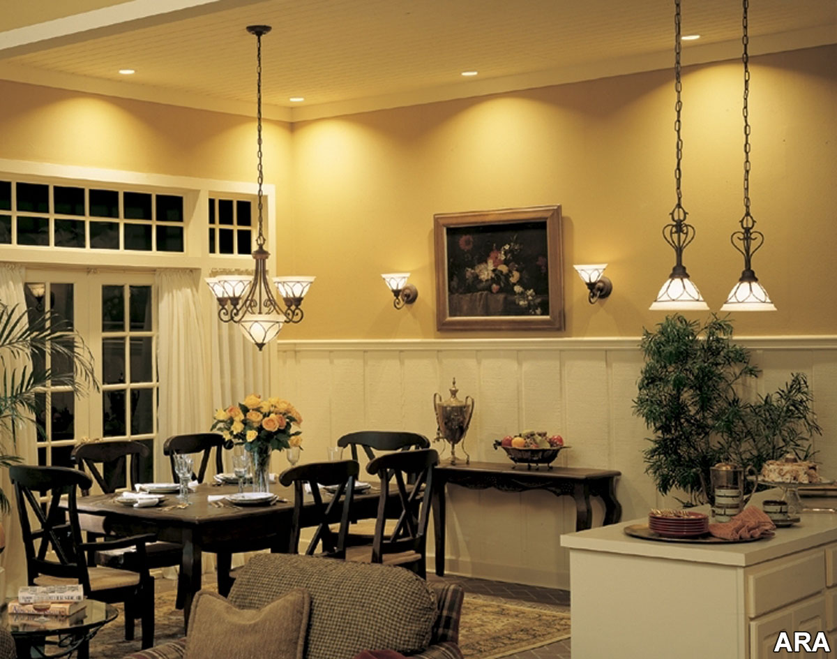 Lighting fixtures for the home Home and decoration