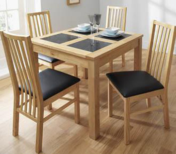 Freeing up space with a small dining table for Small dining room tables
