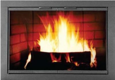Modern Fireplace Doors Images