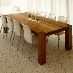 There Are Wood Dining Tables That Are Made Of Teak That Need To Be