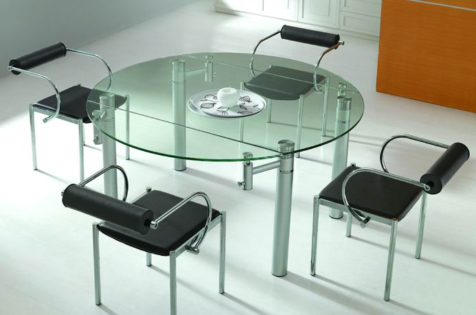 Round glass dining table prices - Dining room table prices ...