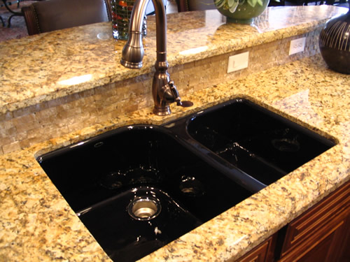 Remarkable Black Granite Undermount Kitchen Sink 500 x 375 · 72 kB · jpeg
