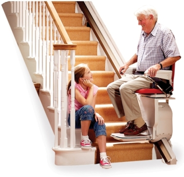 staircase provides the best option for buying a chair lift for stairs