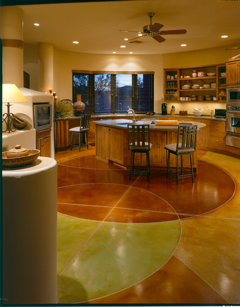 Decorative Concrete Floors For Homes : Decorative concrete flooring solutions