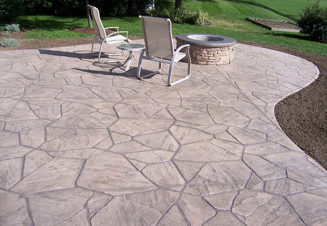 the image of success with decorative concrete