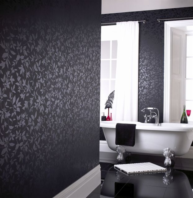 More Of Your Rooms With A Move To Black Or Black And White Wallpaper