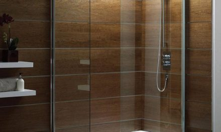Create A Walk In Shower By Splitting Away From A Tub