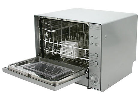 Countertop Dishwasher Heated Dry : Countertop dishwashers can be set on any surface, from sink to ...