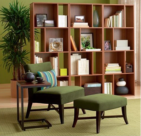buy a bookcase room divider