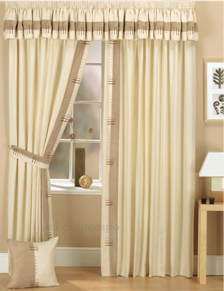 Tailored Valances Curtains, Valance Window Curtains Without Ruffle