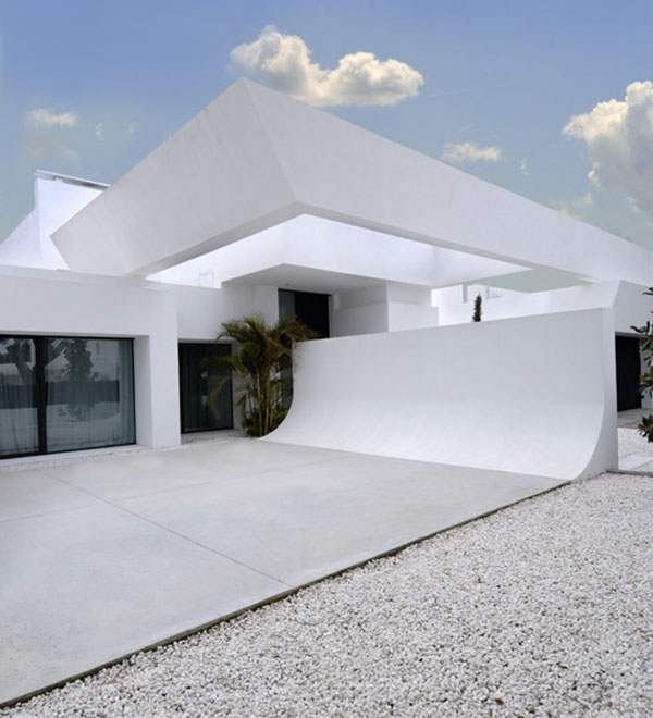 New Home Designs Latest Modern Homes Ultra Modern: Ultra Modern Minimalist Home In Mediterranean Coast