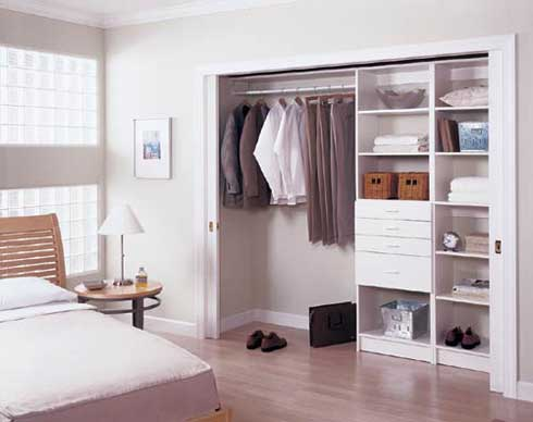 using diy closet systems