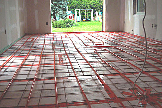 Parts of the boiler of hydronic heating systems for Best flooring for hydronic heat