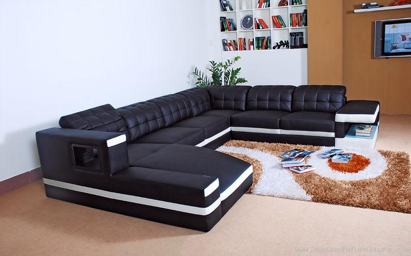 Gain Seating With A Durable Leather Corner Sofa