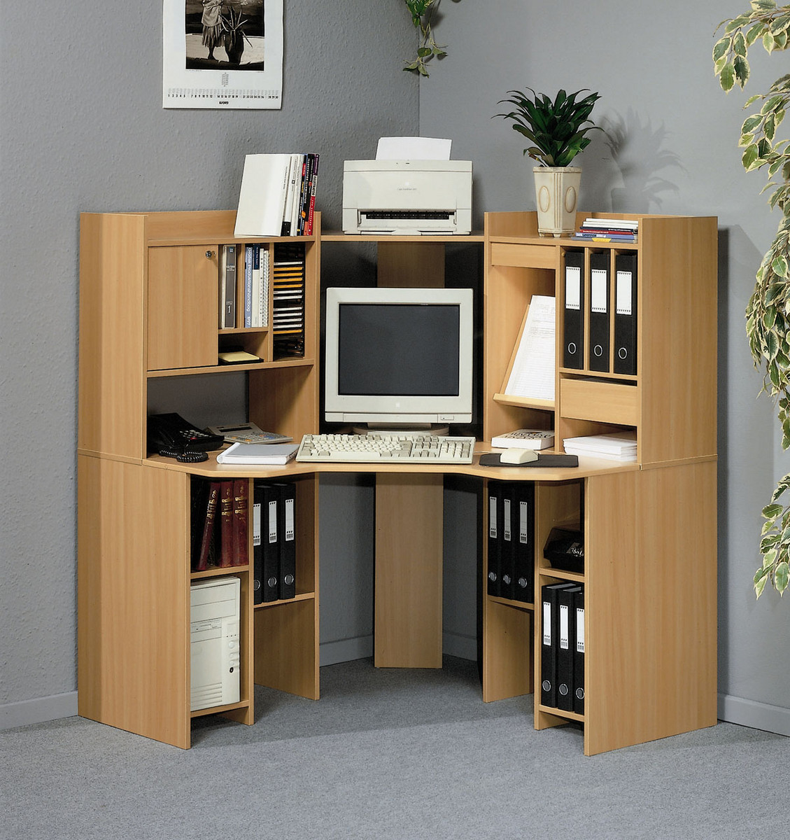 Options for buying an all in one computer desk - Meuble ordinateur d angle ...