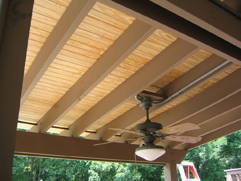 the many roofing materials for patios