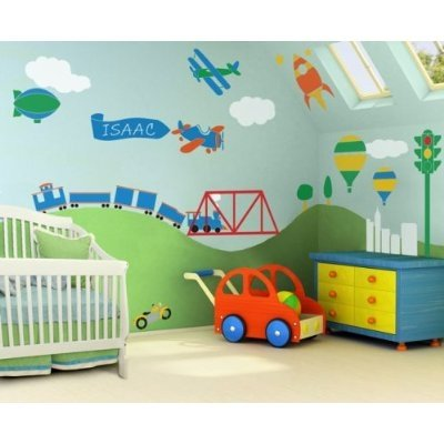 Three Popular Decorating Themes for Boy's Nurseries