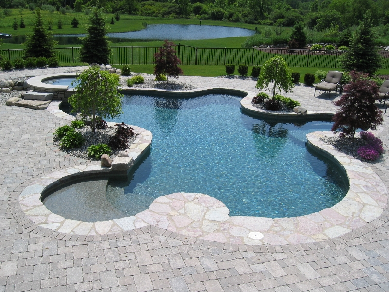 What the price of an inground pool depends on - Prices of inground swimming pools ...