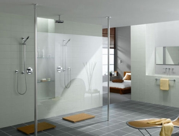 walk in shower design doorless the benefits. Black Bedroom Furniture Sets. Home Design Ideas