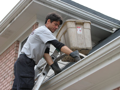 How To Clean Your Gutters Safely