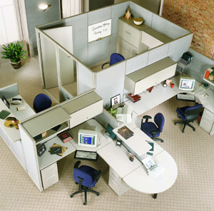 Office Decorations on The Pros And Cons Of Using Office Cubicles In A Small Workplace Office