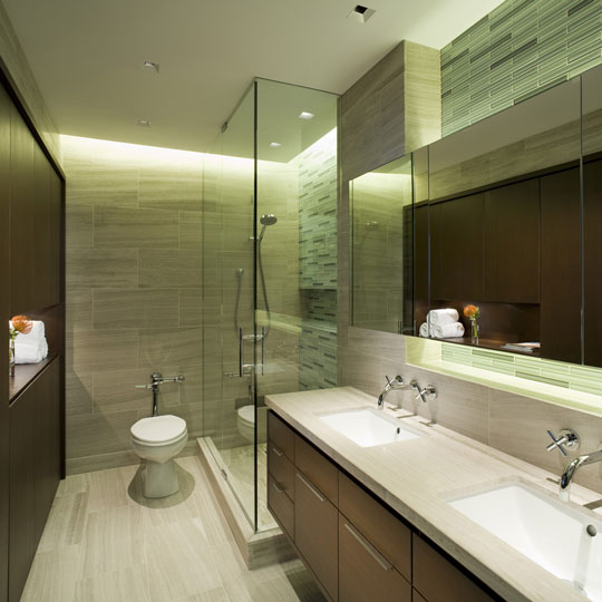 Small bathroom ideas - Modern bathroom design for small spaces ...