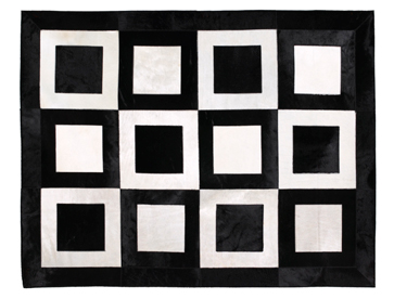 Black Square Rug Uniquely Modern Rugs