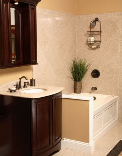 Bathroom remodeling ideas for small bathrooms 3 - Bathroom makeover practical refreshing ideas ...