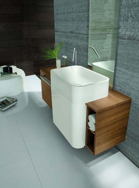 Small bathroom sinks are perfect for both small and normal sized ...