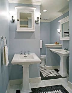 Utilizing Bathroom Sinks for Small Spaces