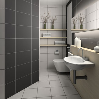 Bathroom Plans on Bathroom Ideas For Small Bathroom Spaces Black And White Bathroom