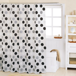 Black And White Shower Curtains 2
