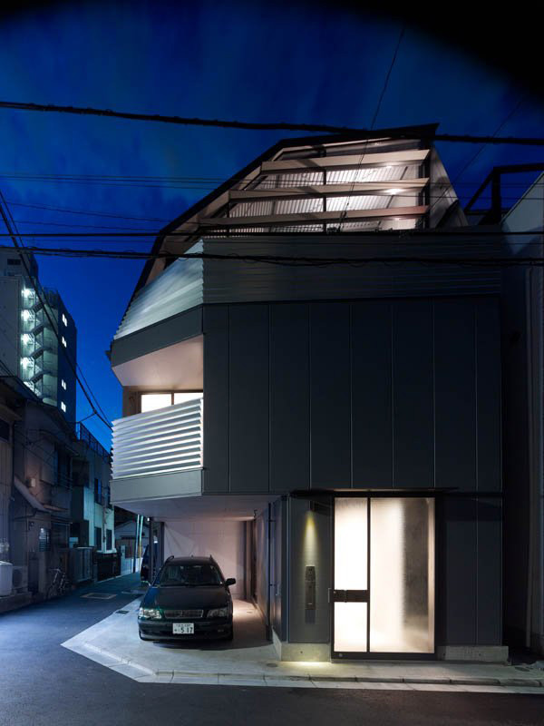 The smart house by modern japanese architect keiji ashizawa for Smart home architectures