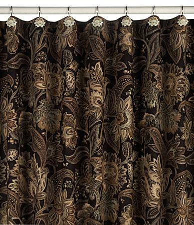 Fleur De Lis Shower Curtain 2