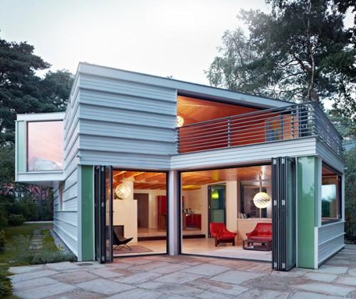 Modern Lake House Design: Modern Lake House In Germany By Archibald Buero Architect