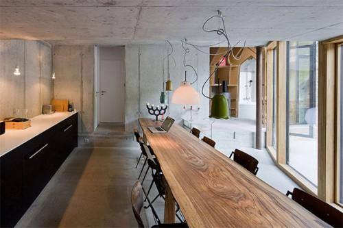 Modern Underground Home Built In Swiss Village By