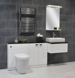 A vanity unit set will add to the aesthetic value of small bathrooms