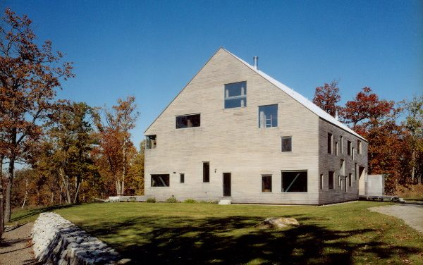 Barn Restored from Rustic to Modern and Cozy House in Pine Plains, New York by architect Preston Scott Cohen