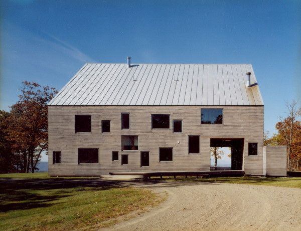 Barn Restored From Rustic To Modern And Cozy House In Pine