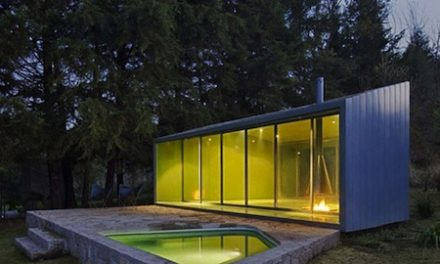 Stylish Mini Glass House for Relaxation by Mexican Architecture Firm, Parque Humano