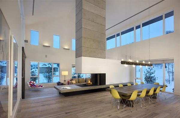 Modern Ski Cabins Contemporary Home 2