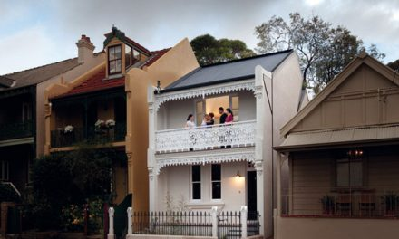 Victorian House goes Modern by Chenchow Little