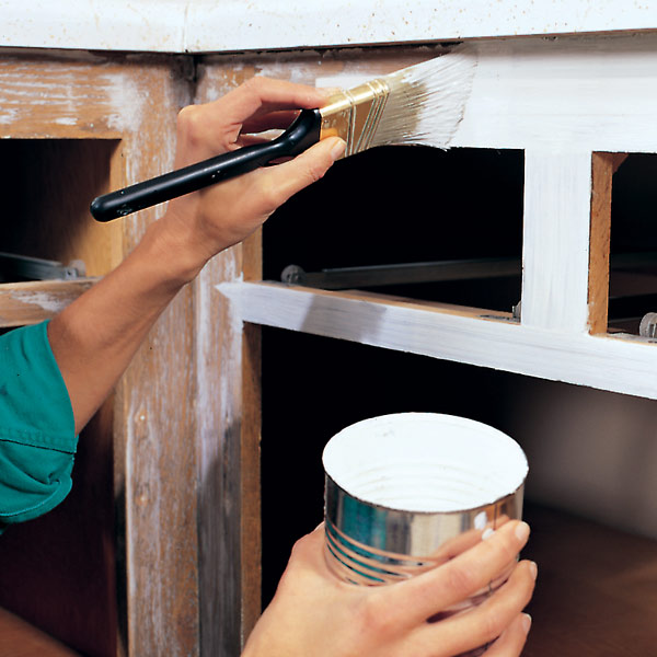 How to paint kitchen cabinets for Best type of kitchen cabinets
