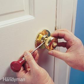 Screwing Doors Knobs