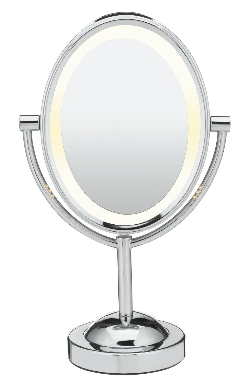 7 best lighted makeup mirrors reviewed top pick for 2017. Black Bedroom Furniture Sets. Home Design Ideas