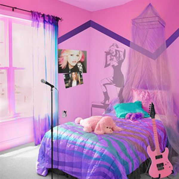 Flooring everything simple Decorations for a girls bedroom