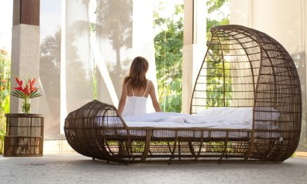 Contemporary Outdoor Abaca Furniture by Kenneth Cobonpue